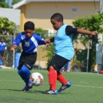 Exciting football on display in primary league