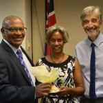 Courts staffer retires after four decades