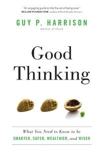 Good Thinking by Guy Harrison, front cover