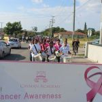 Cayman Academy donates to Cancer Society