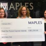 Maples help feed coffers of local charity