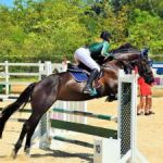 Riders jump to it at equestrian competition