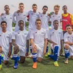 Academy footballers prepare for U-14 tournament