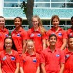 Cayman swimmers competing in Caribbean championships