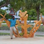 Sculpture greets visitors to Turtle Farm