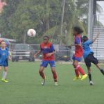 Girls kick off primary school football season
