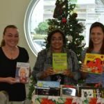 Triple C students donate books for young readers