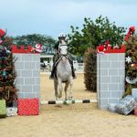 Equestrian school celebrates Christmas in January