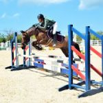 Equestrians jump into competition