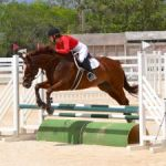 Riders show off jumping skills