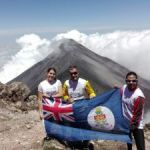 Haines scales two volcanoes in aid of CCMI