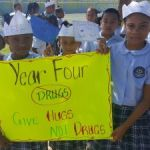 Cayman's students join anti-drug campaign