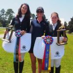Equestrians place second at jumping competition