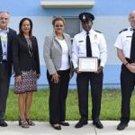 Prison officer earns top employee nod