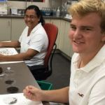 Intern learns about mozzies at MRCU