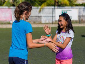 Kids at YMCA camp