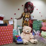 DCFS plays Santa for needy families