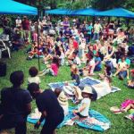 Fun day at Botanic Park attracts record crowds