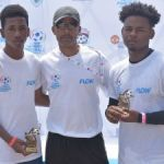 Flow and Man United support young footballers