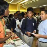 Hospital promotes healthcare careers at school fair