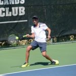 Junior tennis players shine on the court