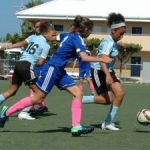 U13 girls return to action