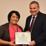 DCI official earns top employee honours