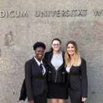 Law school moot team competes in Vienna