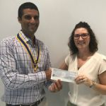 Rotary foots bill for Crisis Centre World Cup campaign
