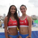 Women win again in beach volleyball