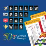 Cayman Airways marks 50 years with a competition