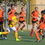 Sunset U13 girls battle for bragging rights