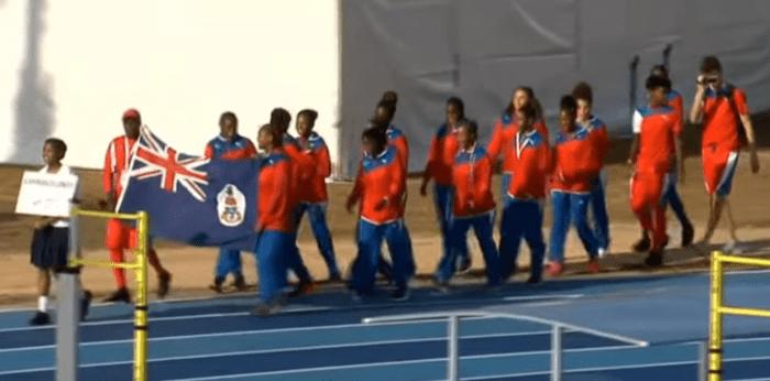 Cayman Islands CARIFTA team