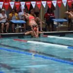 Swim clubs keep competition close at sprint meet