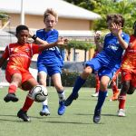 Action continues in boys U11 FA Cup