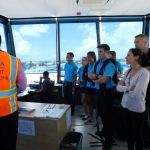 Cayman Prep students tour new airport terminal