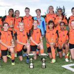 Sunset girls secure U15 league and cup double