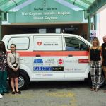 Van donated for mobile blood drives