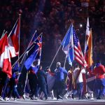 Lauren Hew carries flag as Pan Am Games conclude