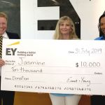 EY donates to Jasmine, encourages others to help