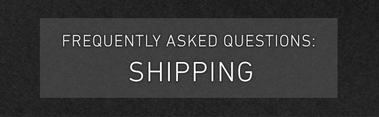 shipping from china to usa faq