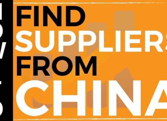 how to find suppliers in china for my product