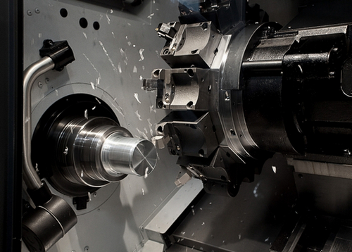CNC milling and turning