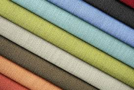 fabric material in use
