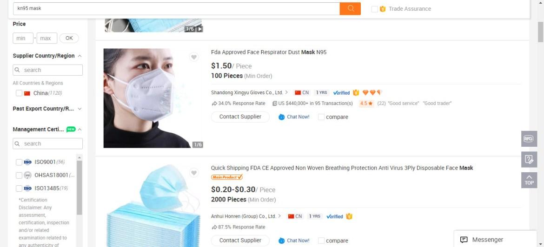 Alibaba-KN95 mask from China-KN95 mask buy bulk-KN95 mask wholesale usa