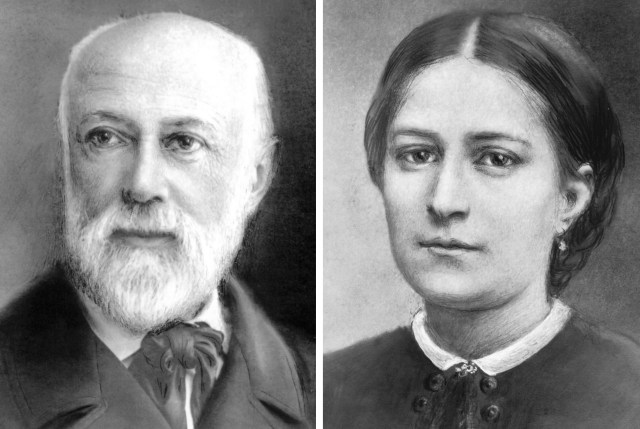 Louis and Marie Zelie Guerin Martin, the parents of St. Therese of Lisieux, in images provided by the Sanctuary of Lisieux in France. (CNS file)
