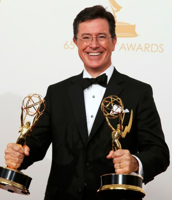 "Stephen Colbert, host of CBS' ""Late Night,"" is pictured in 2013. (CNS file/Reuters)"