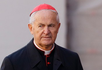 Cardinal Jozef Tomko is pictured at the Vatican in this Nov. 19, 2010, file photo. (CNS/Paul Haring)