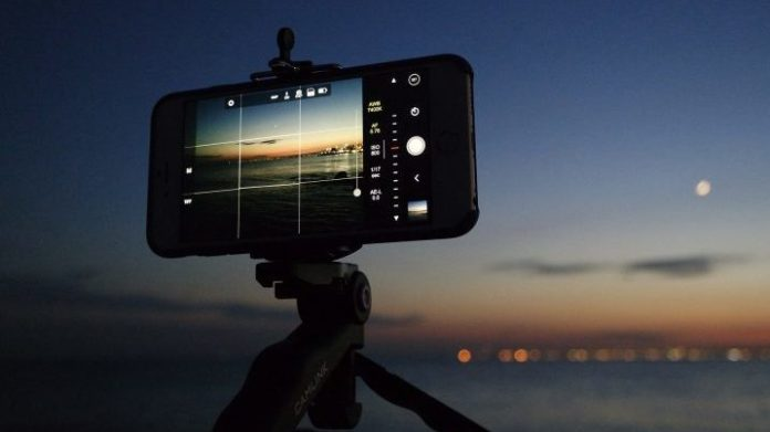 time lapse in smartphone camera