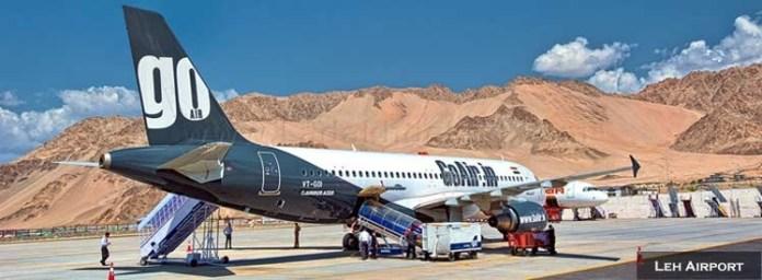 Plane To ladakh